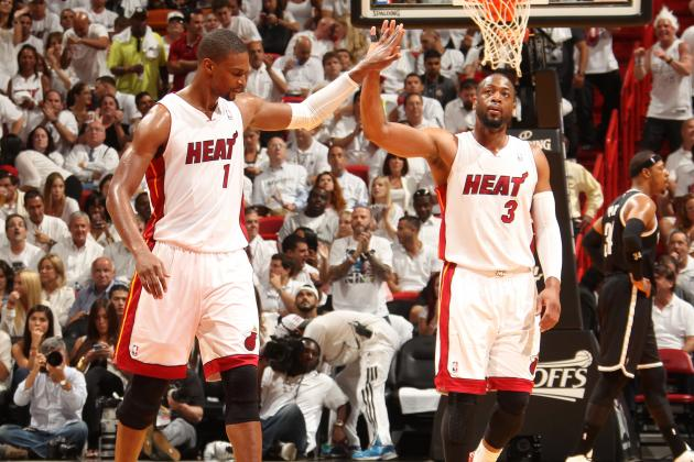 Twitter Reacts as Dwyane Wade and Chris Bosh Return to Miami Heat