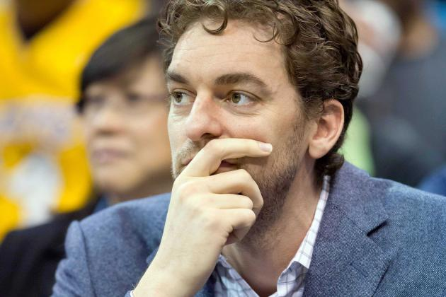 Report: Gasol Turns Down Offer from Lakers