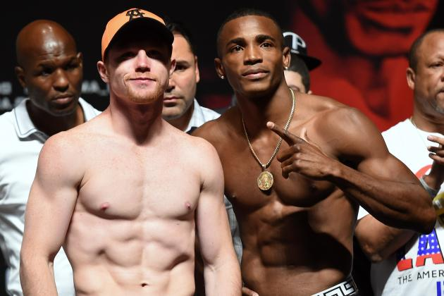 Canelo vs. Lara Weigh-In: Results and Takeaways from Pre-Fight Event