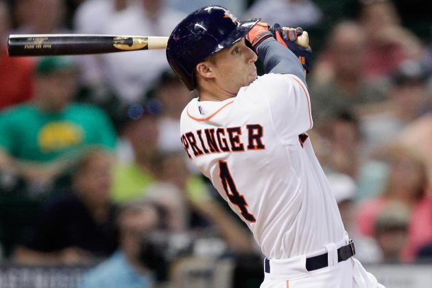 Astros Scratch George Springer vs. Red Sox
