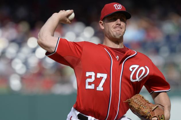 Zimmermann Exits Start in Fourth with Injury