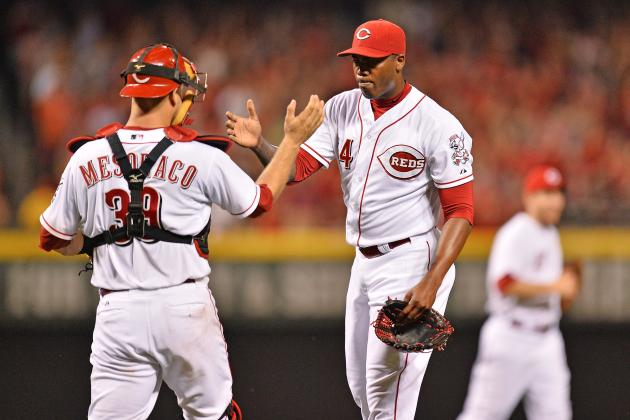 Aroldis Sets MLB Record with K in 40th Straight Game