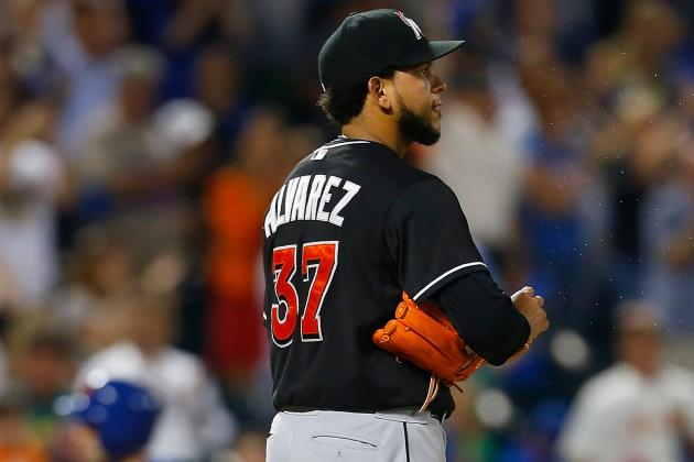 Miami Marlins Starter Henderson Alvarez Hit Hard in Loss to New York Mets