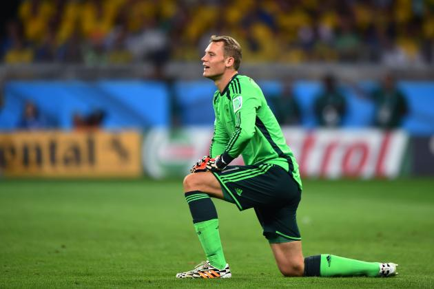 Manuel Neuer Wins Golden Glove at 2014 World Cup