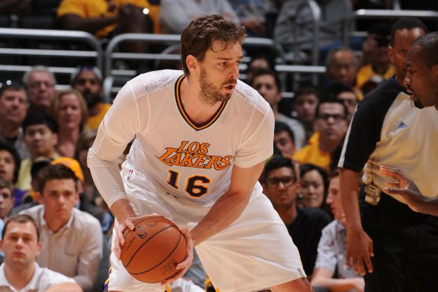 Lakers Rumors: Pau Gasol Sign-and-Trade to Bulls Would Benefit Both Sides