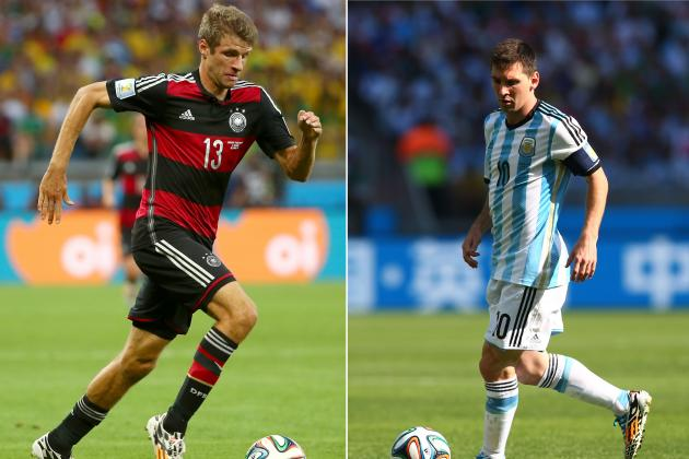 Germany vs. Argentina: Head-to-Head Record and Key Stats Before World Cup Final