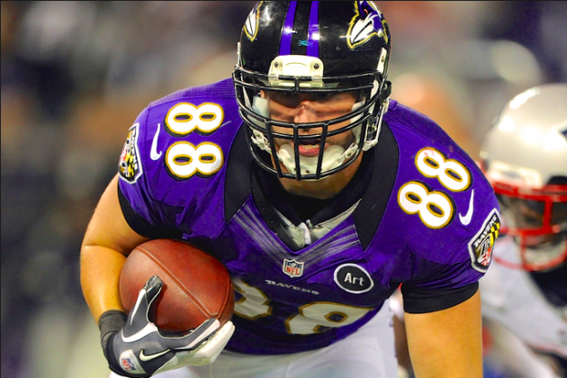 Healthy Dennis Pitta Will Finally Take on a Starring Role in Baltimore's Offense