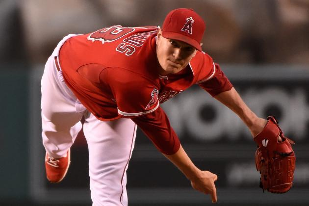 Angels' Richards Pitches Past All-Star Snub