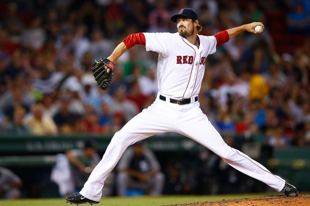 Andrew Miller Hinting at Future as Boston Red Sox Closer