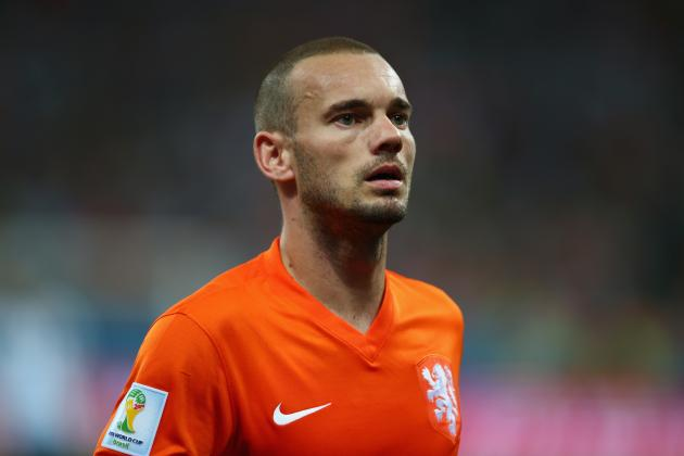 Wesley Sneijder Injury: Updates on Netherlands Star's Hamstring and Return