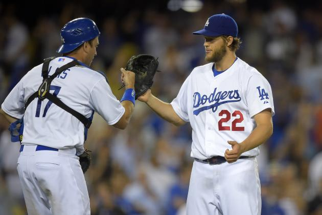Dodgers' Clayton Kershaw Sees Scoreless Streak End at 41 Innings