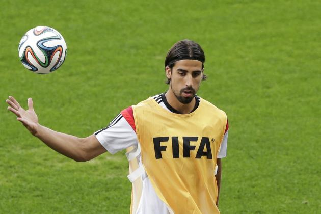 Arsenal Transfer News: Buzz Surrounding Sami Khedira, Javier Manquillo, Others