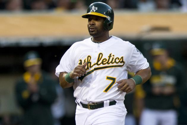 A's Place Callaspo (Hamstring) on 15-Day DL