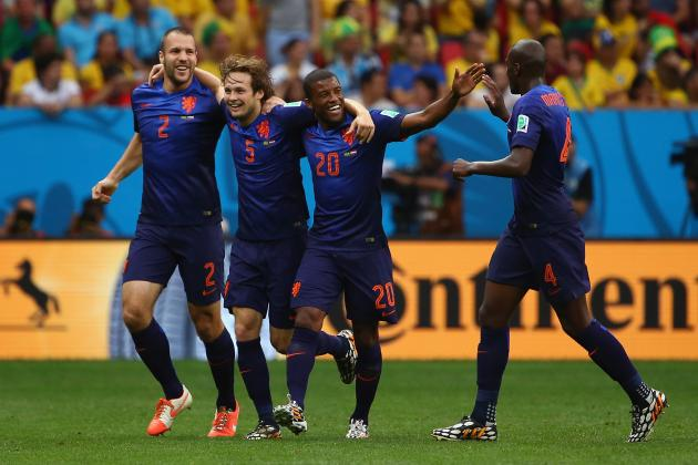 World Cup 2014 Scores: 3rd-Place Game Results, Updated Bracket After Day 31