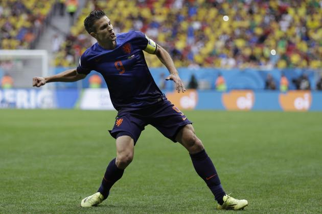 Twitter Reacts to Arjen Robben, Robin Van Persie's Performances vs. Brazil