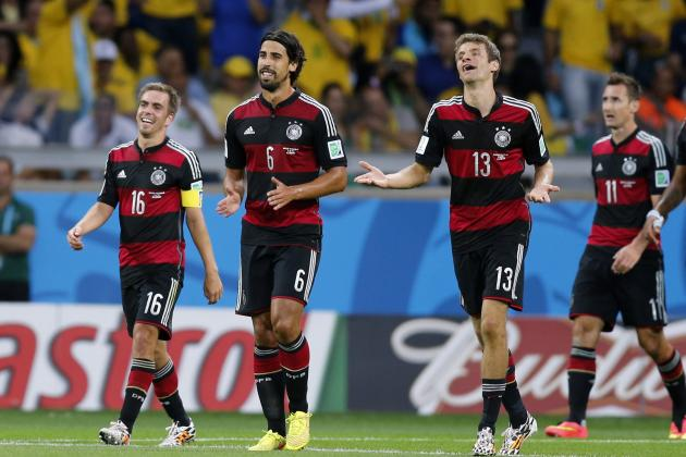 Germany Now with 5 Players to Score at Least 10 World Cup Goals