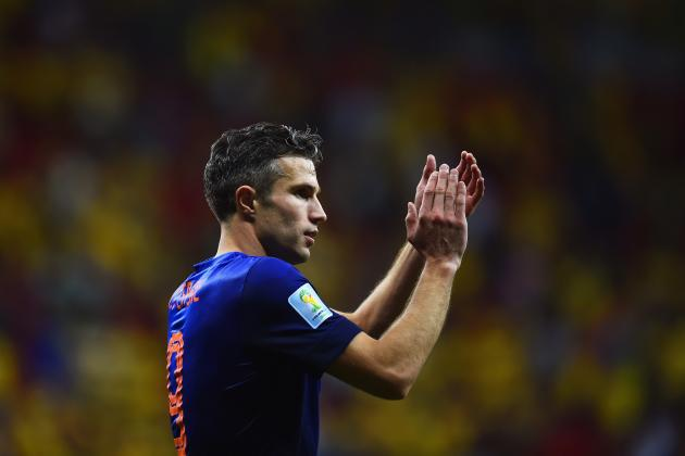 Did Robin Van Persie Have a Good World Cup for the Netherlands?
