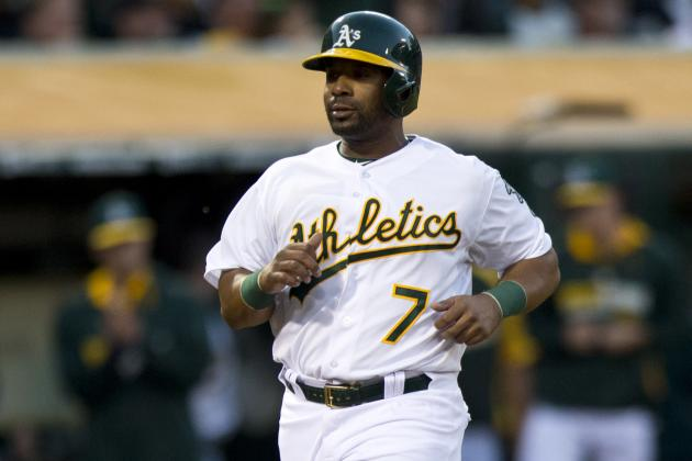 A's Put Alberto Callaspo (Hamstring) on DL