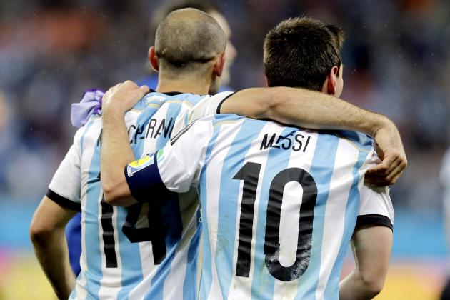 World Cup Final 2014: Argentina Midfield Is Key to Slowing Down Germany's Attack