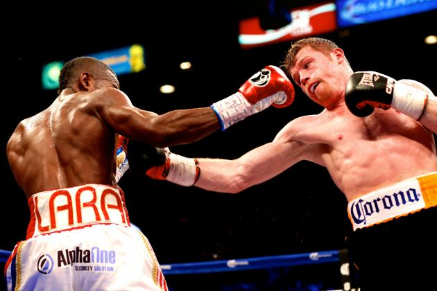 Canelo vs. Lara: Live Round-by-Round Results and Highlights