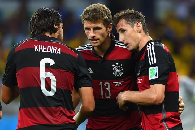 Germany vs. Argentina: World Cup 2014 Final Kick-off Time and Live Stream Info