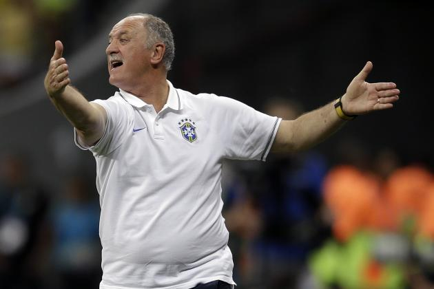 Luiz Felipe Scolari Leaves His Brazil Future with CBF as Julio Cesar Steps Down