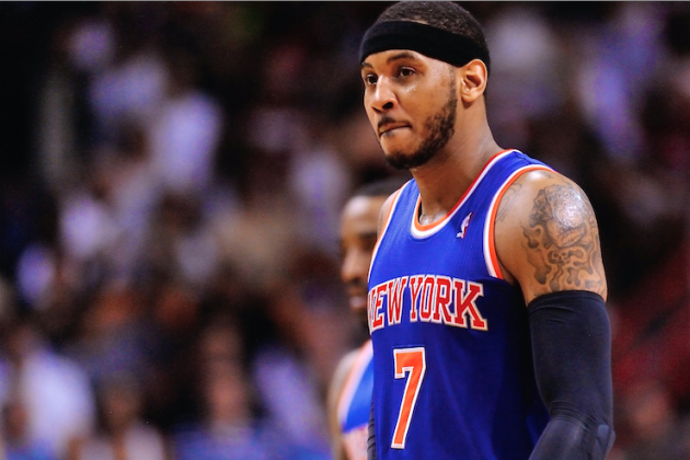 Real Pressure Begins Now After Carmelo Anthony's Re-Signing with NY Knicks