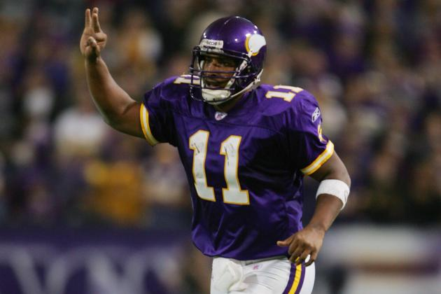Ex-Viking Daunte Culpepper Talks Knees, Restaurants, Bridgewater