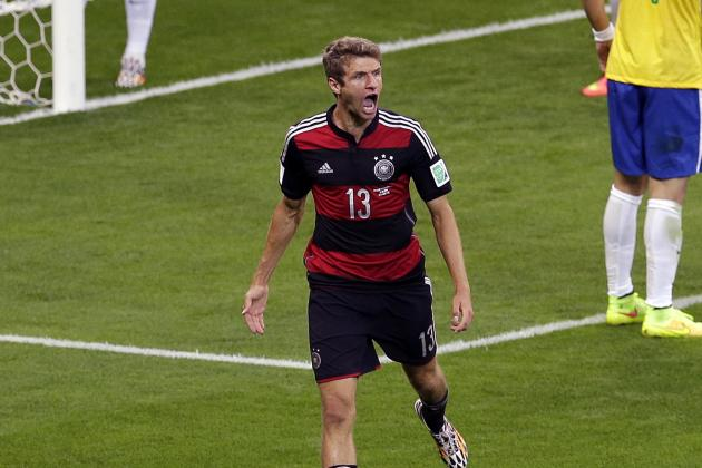 Germany's Thomas Mueller Looking to Become 1st 2-Time Golden Boot Winner