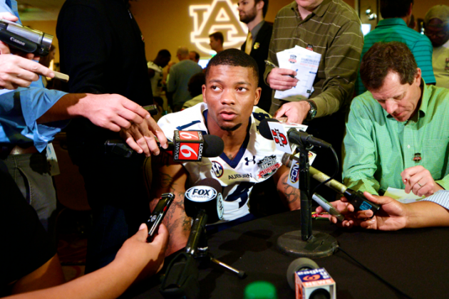 What Nick Marshall Can Learn from Johnny Manziel's SEC Media Days Experience