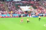 LeBron Posts Video of World Cup Final Streaker