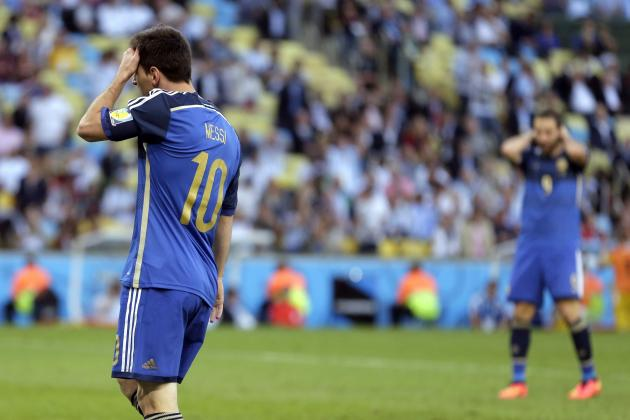 Twitter Reacts to Lionel Messi's Performance in 2014 World Cup Final