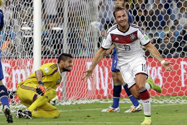 World Cup 2014 Scores: Final Results and Tournament Bracket After Championship