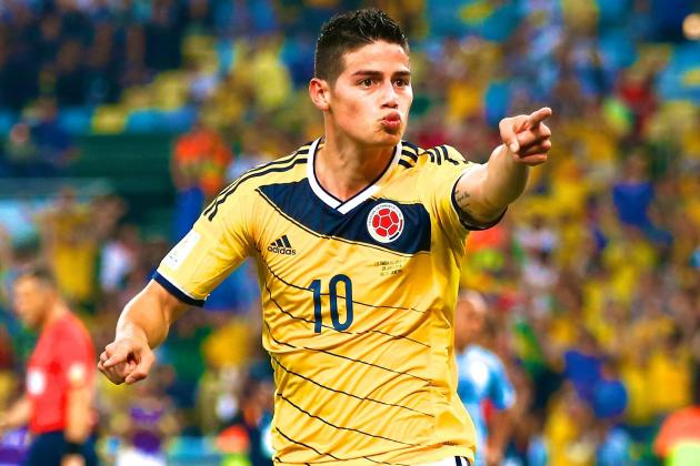 James Rodriguez Wins Golden Boot at 2014 World Cup