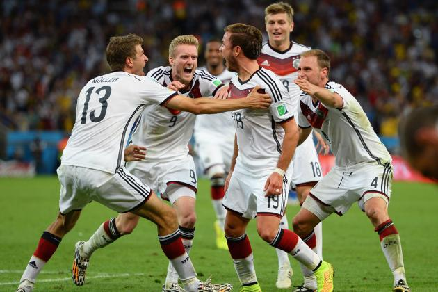 Germany vs. Argentina: Player Ratings for World Cup Final