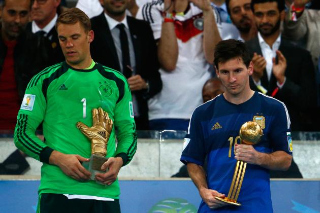 FIFA World Cup 2014 Awards: Results, Winners, Recap and Twitter Reaction