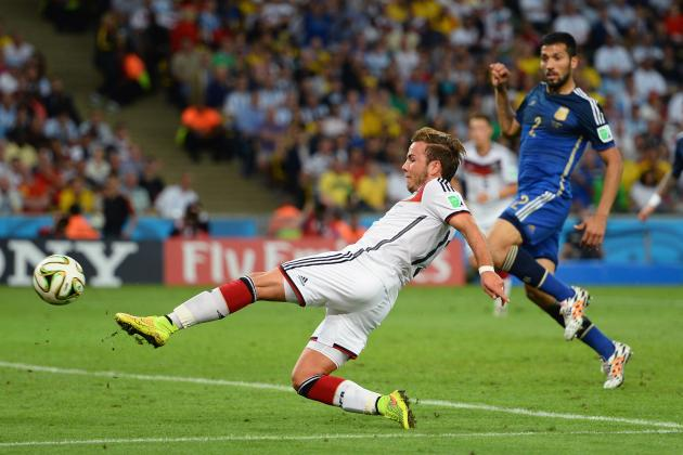 Mario Goetze's 2014 World Cup Winner Was Fitting Moment for Young Star