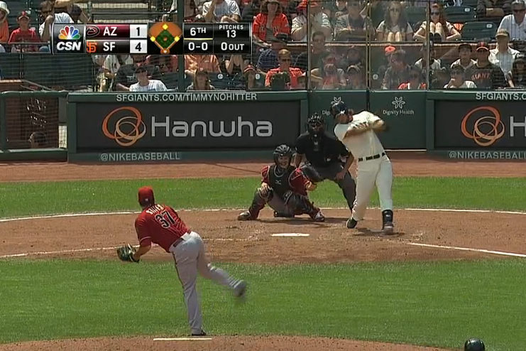 Madison Bumgarner Gives San Francisco Giants Their 2nd Grand Slam of the Day