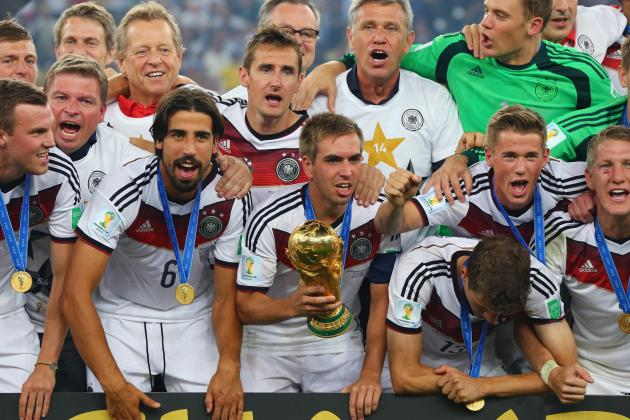 World Cup Daily Digest: Collective Trumps Individual as Germany Rule the World
