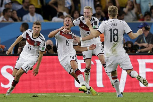 Germany's Moment of World Cup Magic Means Lionel Messi Must Wait 4 More Years