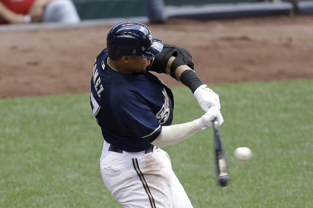 Brewers Rout Cards to Close First Half Atop Central