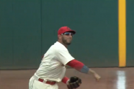 Indians' Mike Aviles Makes Great Catch, Guns Out R…