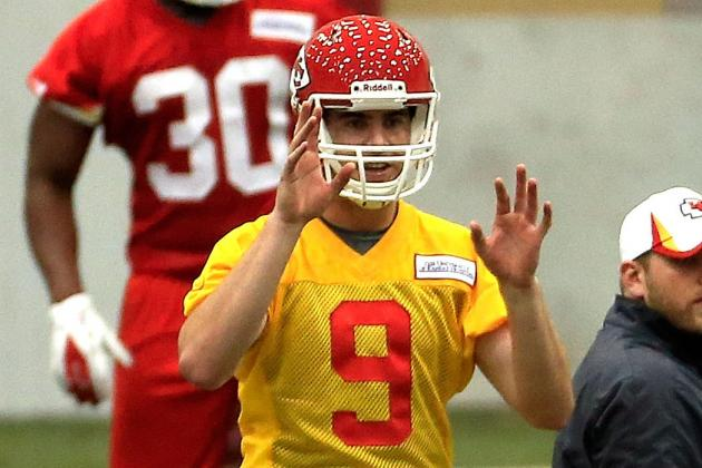 Tyler Bray to Push for Backup Role with Kansas City Chiefs