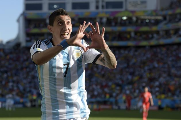 How the Signing of Angel Di Maria Would Impact Paris Saint-Germain's Starting XI