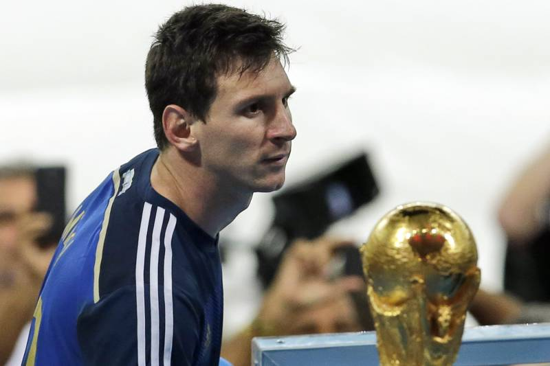 Image result for messi world cup 2014