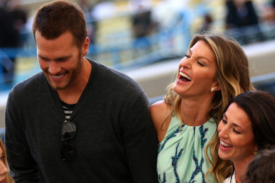Tom Brady Had a Firm Grip on Gisele at the World Cup