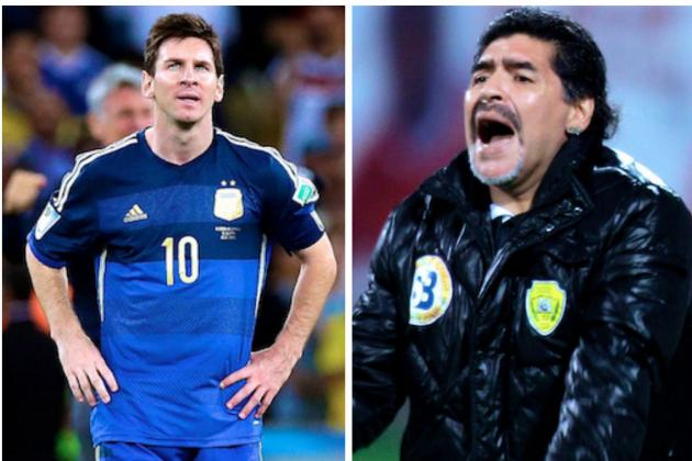 Diego Maradona Comments on Lionel Messi's Golden Ball After World Cup Defeat