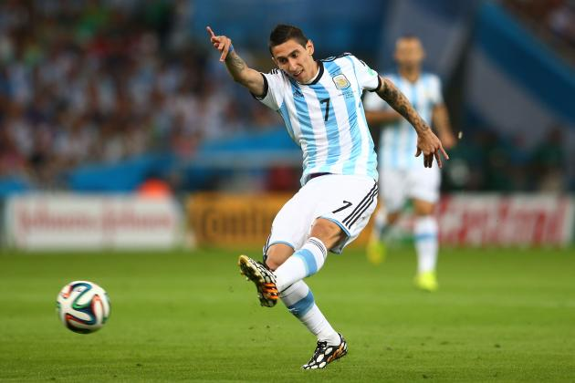 Manchester United Transfer News: Latest on Angel Di Maria, Arturo Vidal and More