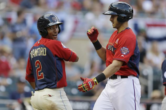 MLB Futures Game 2014: Results, Box Score, Top Performers from Target Field