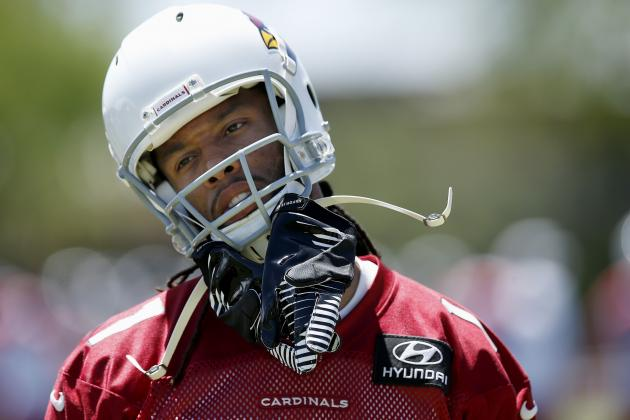 Larry Fitzgerald: Patriots Never Approached Me About Trade from Cardinals